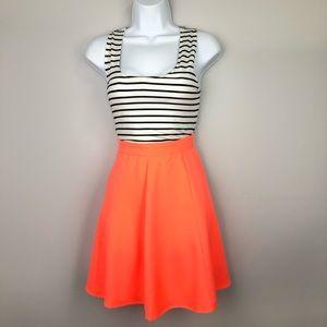 🦄 2 for $12 Double Zero Neon Dress